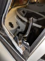 Vent window lock