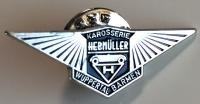 Karosserie Hebmüller Hebmuller Wuppertal Barmen Pin