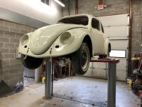 Hanging the fenders, hood, and trunk