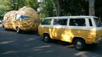 Vanagon and Peanut Vehicle