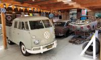 New Workshop with 1963 Double Cab