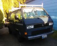 Blue 86 pass van being sold