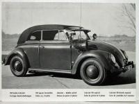 VW Special Convertible vintage press photo