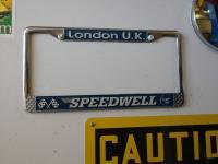 Speedwell plate frame