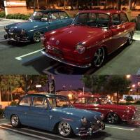 Red and Blue 1964 Notchbacks