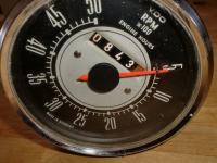 VDO tachometer cum engine hour meter