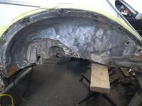 1966 beetle left wheel arch