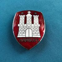 Original Hamburg hood badge