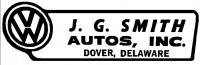 JG Smith Auto Decal