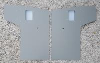 Barndoor door panels