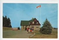 Fundy National Park postcard with camping 13-Window