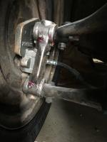 356 brakes on dropped spindles.