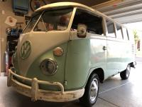 1963 Turkis and Como green microbus