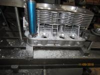 Pushrod tube offset  modification