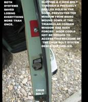 Dead bolt for Cab Door
