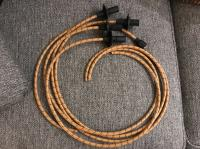 Lowbrow Customs cloth spark plug wires