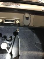 Passenger footrest for Ghia