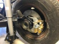 Sofia Rear Brake Conversion