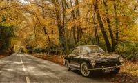 My 58 Karmann Ghia in Autumn Colours