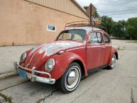 1964 Bug with VW Roofrack