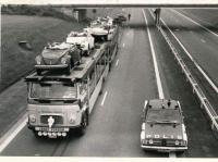 VW Truck Transporter Accident