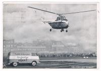 Heliport Rotterdam with Logo VW Bus