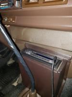 Vanagon radio housing for Vanagons with Behr A/C