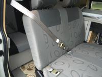 Eurovan camper passenger side middle seat shoulder belt modification