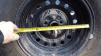 Syncro 16 Steel Wheel Brake clearance