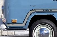 VW Bus Stripe Designs