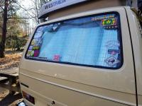 vanagon window insulation diy reflectix
