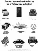 VW Dealer Development Ad, 1966