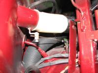 windscreen defog tube