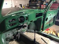Shaved and painted '71 super dash