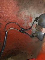 58 Ghia Tail Light Repair