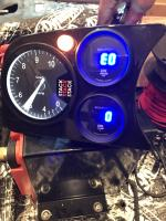 Gauge cluster wired