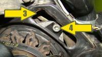 Alternator adjustment bolt