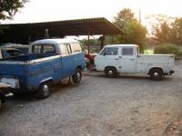 my T2 and T3 double cab