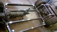 vw fastback v8 custom chassis