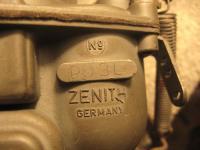 Zenith NDIX Carb and Manifolds