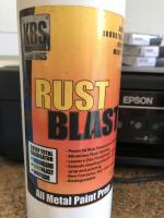 Product for removing rust and metal prep.