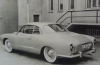 Karmann Ghia Type 14 second prototype 1959