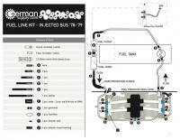 78-79 fuel lines diagram