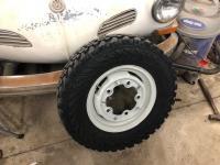 Yokohama Geolander MTs mountes on WW wheels
