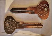 VW 411 and 412 keys