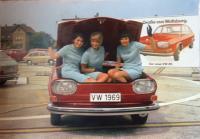 1968 VW 411 introduction