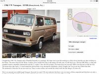 Vanagon for sale