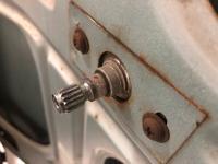 Door handle pin
