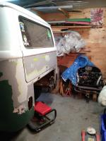 1964 kombi engine out