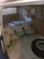 1970 Westfalia camper interior